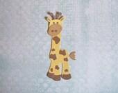 Baby Giraffe Die Cut - Bazzill Bling - Set of Four