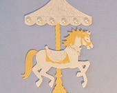 Pretty Carousel - Glitter & Pearlescent Cardstocks - Pearls - Nice