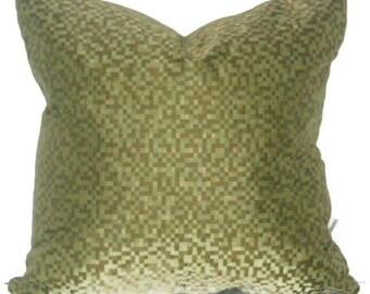 """MegaPixel Crypton Green Crypton  Pillow Cover 18"""" X 18"""""""