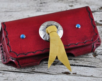 Southwestern Style Leather iPhone Case SALE