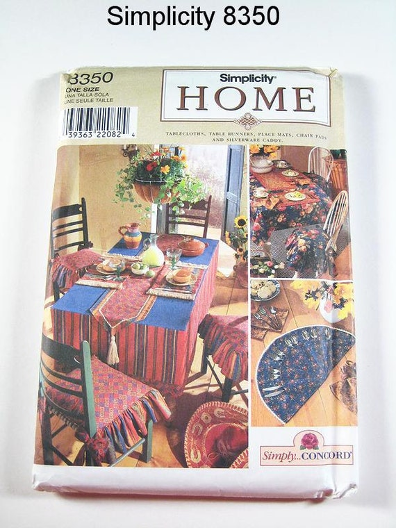 Https Www Etsy Com Listing 107976613 Simplicity Home Decor Pattern 8350