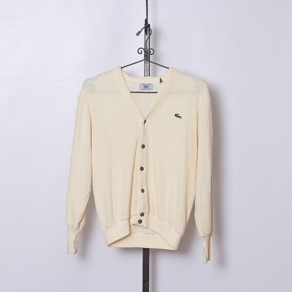 vintage 1970s Izod Lacoste Cardigan Sweater
