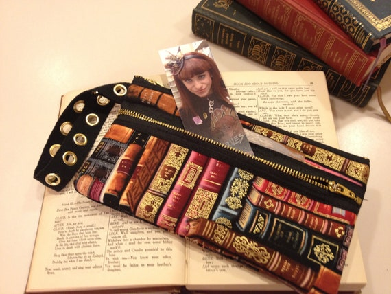 Golden Books wristlet purse