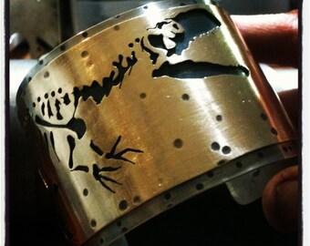 Killer Dinosaur Cuff Bracelet