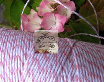 Devine Twine Bakers Twine in Cotton Candy Pink