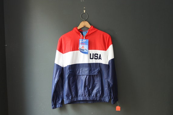 Windbreaker / Vintage Windbreaker Jacket with Tags.
