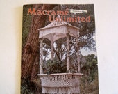 Reserved for Cyndi - Macrame Home Decor Pattern Book - Hanging Lamp, Plant Hangers, Towel Hanger, Bird Feeder