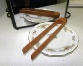 Wood Toaster Tongs