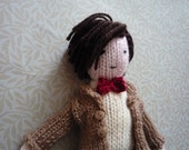 Doctor Who Matt Smith doll knitting pattern