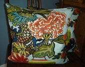 for Caroline Schumacher CHIANG MAI DRAGON Pillow Cover in Lacquer,