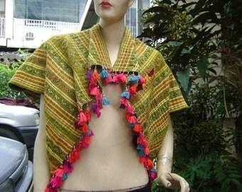 100 percent hemp Top mini jacket shawn