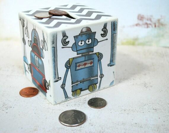 Mr. Robot Wood Bank