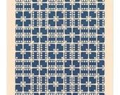 Letterpress Dice Print - Gamma Centauri