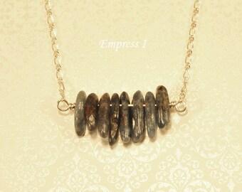 SALE - Blue Kyanite Dagger Necklace, Sterling Silver Necklace, Kyanite Necklace, Gemstone Jewelry, Kyanite Jewelry, Dream Jewelry, Gift Idea