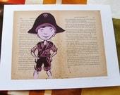 Jim Hawkins of Treasure Island LitKids Print, Edition 2