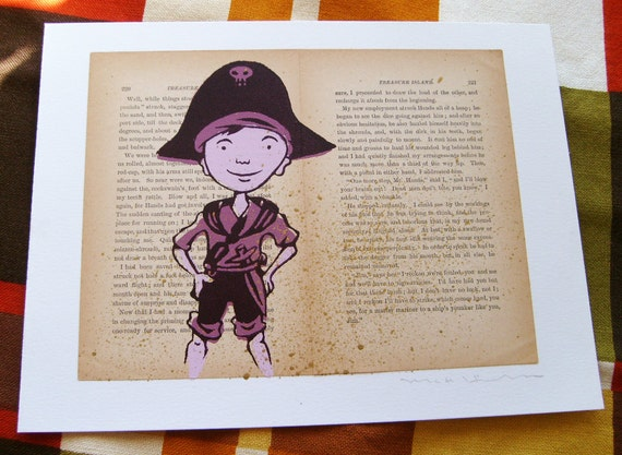 Jim Hawkins of Treasure Island LitKids Print, Edition 2