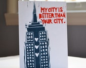 My City is Better Than Your City (New York) Card