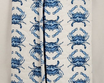 Notebook Cover and Pen Set Maryland Blue Crab