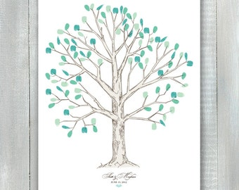 Fingerprint Tree Guestbook PDF