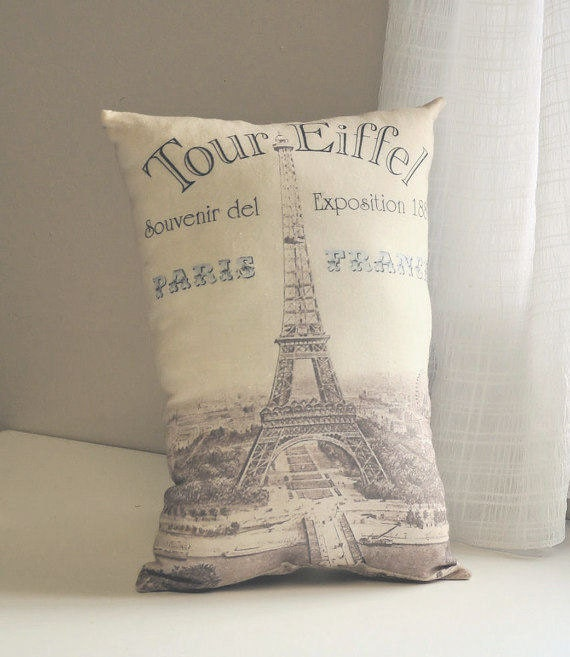 Tour Eiffel Pillow
