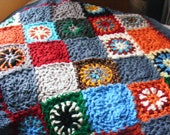 Colorful Wheels Baby Blanket
