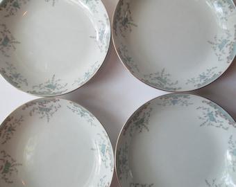 Vintage Mikasa Narumi Fine China Seville Soup Bowls Set of Four