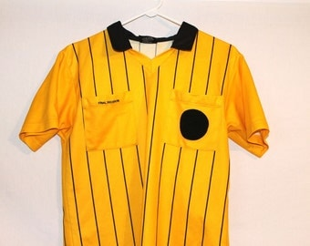 CLEARANCE SALE 90s Yellow Black Dot Vintage Athletic Top