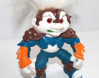 Vintage 1992 Hasbro Battle Trolls  Roadhog Troll