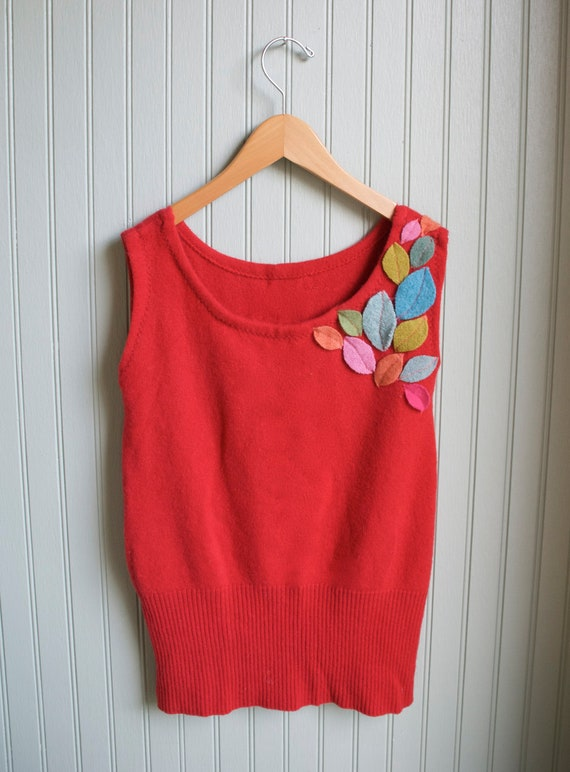 Girl's Cashmere Tunic Sweater///6-10 year size