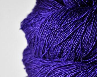 Memory of a dark tale - Tussah Silk Fingering Yarn