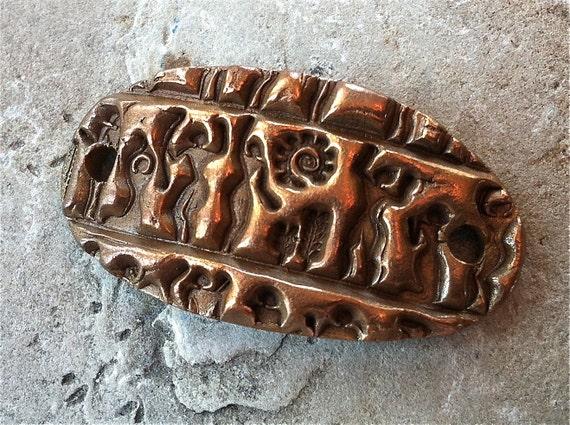 Forgotten Tribe Bronze Wrist Focal