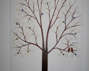 Wedding Guest Signature Tree - Wedding Guest Tree - Custom Orders Only - Wedding Wish Tree - Guest Book Alternative