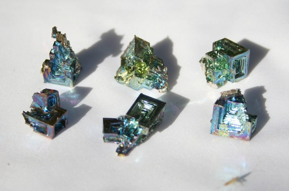Rainbow Colored Bismuth Crystal