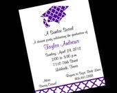 10 Quatrfoil Graduation Party Invitations OR Printable DIY U Print