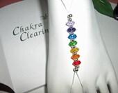 7 Clearing Chakras Foot Jewel