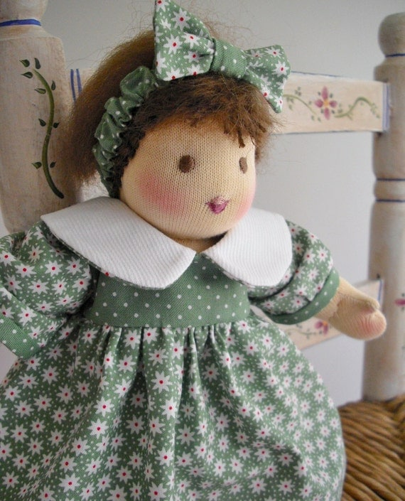 Waldorf Doll...10 Inch Girl Doll...Age 4 and Up...New 10 Inch Dress-Up Doll...Betsy