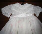 "Antique/Vintage 1955  Ideal 24"" Magic Lips Doll - Original Dress Set -  Dress Slip Undies"