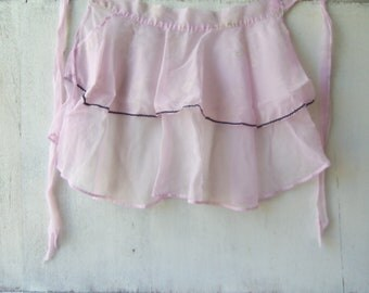Vintage Light Purple Apron