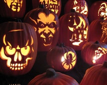 Hand Carving Foam Pumpkins the Traditional Way PDF How-To Tutorial DOWNLOAD ONLY