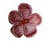 CUSTOM ORDER Kanzashi Flower Brooch for Bmavalon