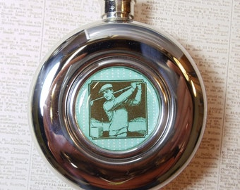 Golfer flask-Sale!