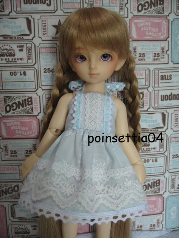 Super Dollfie Yo SD Blue Lace One Piece Dress A