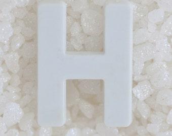 Alphabet Art Print, Letter H, Alphabet Photography, Custom Name Frame, Personalised Art, Alphabet Photos, Modern Name Art