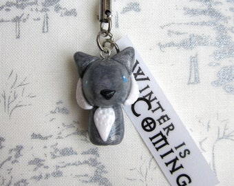 House Stark - Winter is Coming Cell Phone Strap