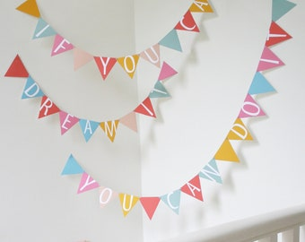 Spell It Out Alphabet Bunting Kit