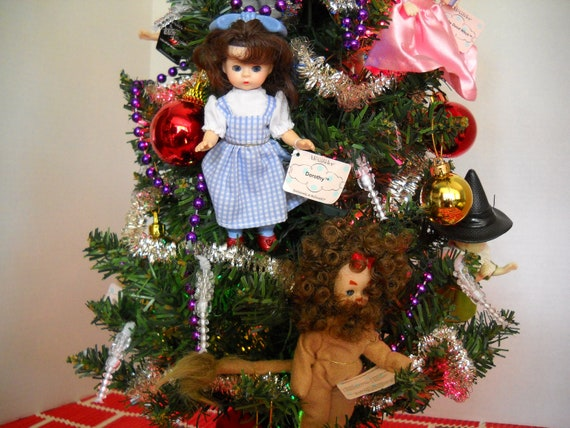 Wizard Of Oz Christmas Tree Table Top Size Electric Lights