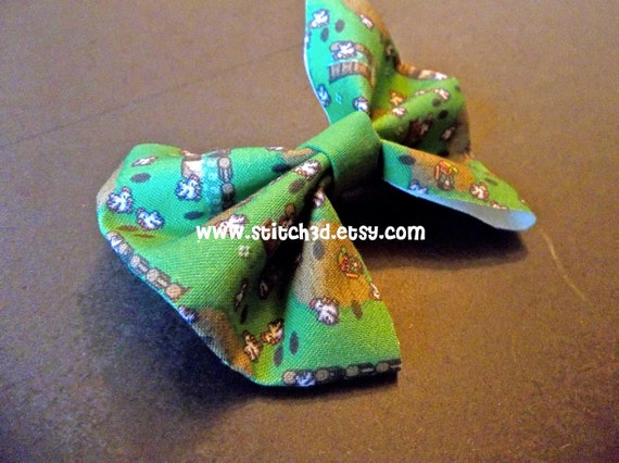 Legend of Zelda CUCCO attack fabric hair bow or bow tie