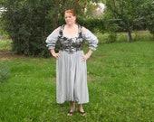 Silver Plus Sized Dress