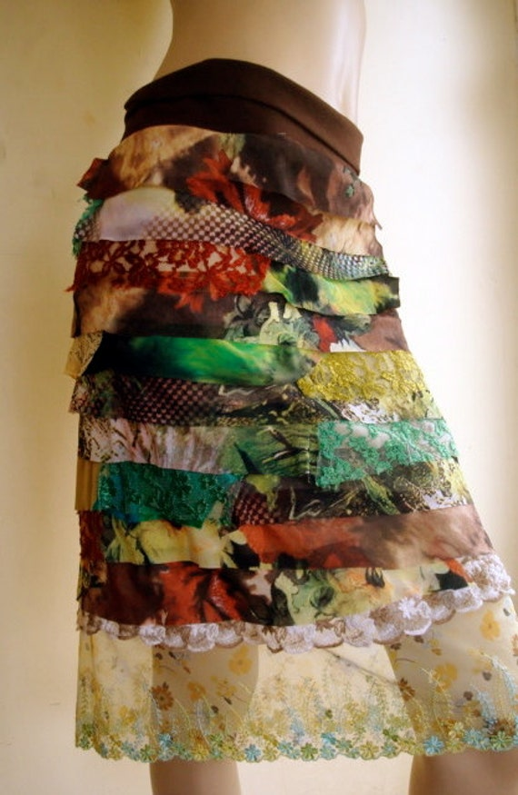 Womens Clothing Skirt Collage Autumn By Gypsyloveheadbands