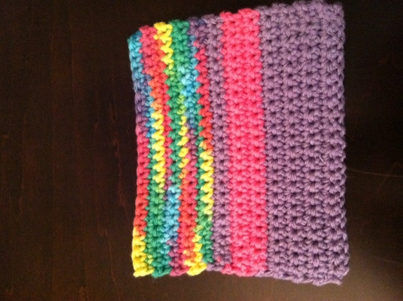 Sink Cloth - Pink, Purple and Multi-Color